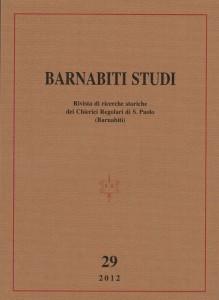 Barnabiti Studi 29