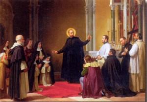 fondatore con laici e angeliche