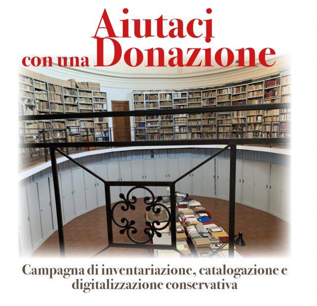 Campagna di inventariazione, catalogazione e digitalizzazione conservativa
